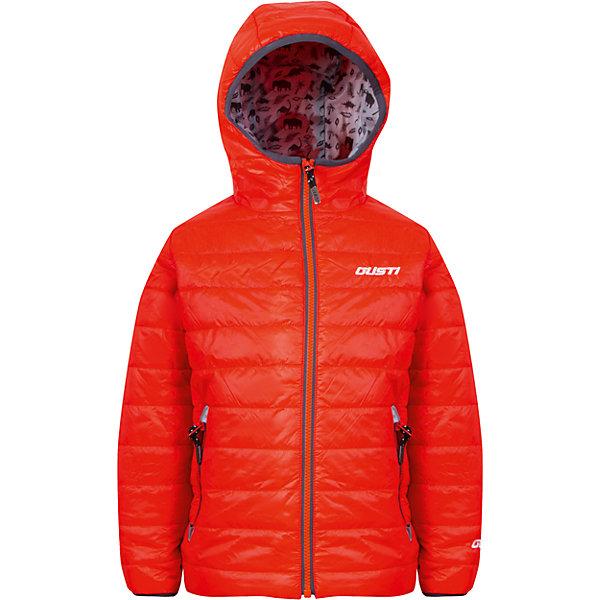 Куртка для мальчика GustiВерхняя одежда<br>Характеристики товара:<br><br>• цвет: оранжевый<br>• состав: 100% полиэстер, полиуретановое покрытие, подкладка - 100% полиэстер<br>• наполнитель: 100 гр teck polifill<br>• температурный режим: от +5° С до +15° С<br>• водонепроницаемый материал<br>• капюшон<br>• карманы<br>• водонепроницаемость: 2000 мм<br>• паропроницаемость: 2000 г/м2<br>• комфортная посадка<br>• светоотражающие элементы<br>• молния<br>• подкладка: таффета<br>• демисезонная<br>• страна бренда: Канада<br><br>Эта демисезонная куртка с мембранной технологией поможет обеспечить ребенку комфорт и тепло. Изделие удобно садится по фигуре, отлично смотрится с различным низом и обувью. Куртка модно выглядит, она хорошо защищает от ветра и влаги. Материал отлично подходит для дождливой погоды. Стильный дизайн разрабатывался специально для детей.<br><br>Куртку для мальчика от известного бренда Gusti (Густи) можно купить в нашем интернет-магазине.<br>Ширина мм: 356; Глубина мм: 10; Высота мм: 245; Вес г: 519; Цвет: оранжевый; Возраст от месяцев: 24; Возраст до месяцев: 36; Пол: Мужской; Возраст: Детский; Размер: 98,116,152,140,110,104,128,92,122,120; SKU: 5452414;