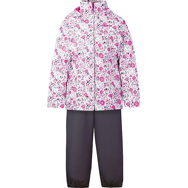 Комплект: куртка, толстовка и брюки для девочки GustiВерхняя одежда<br>Характеристики товара:<br><br>• цвет: белый<br>• состав: 100% полиэстер, подкладка, утеплитель - 100% полиэстер<br>• комплектация: куртка, съемная флисовая подкладка, брюки<br>• температурный режим: от +5° С до +15° С<br>• водонепроницаемый материал<br>• капюшон<br>• карманы<br>• съемные подтяжки<br>• брючины эластичные<br>• комфортная посадка<br>• светоотражающие элементы<br>• молния<br>• утеплитель: синтепон<br>• демисезонный<br>• страна бренда: Канада<br><br>Этот демисезонный комплект из куртки, пристегивающейся к ней толстовки из флиса, и штанов поможет обеспечить ребенку комфорт и тепло. Предметы удобно садятся по фигуре, отлично смотрятся с различной обувью. Комплект очень модно выглядит, он хорошо защищает от ветра и влаги. Материал отлично подходит для дождливой погоды. Стильный дизайн разрабатывался специально для детей.<br><br>Комплект: куртка, толстовка и брюки для девочки от известного бренда Gusti (Густи) можно купить в нашем интернет-магазине.<br>Ширина мм: 356; Глубина мм: 10; Высота мм: 245; Вес г: 519; Цвет: белый; Возраст от месяцев: 12; Возраст до месяцев: 15; Пол: Женский; Возраст: Детский; Размер: 80,128,122,120,116,110,104,100,98,92,90,86; SKU: 5452451;