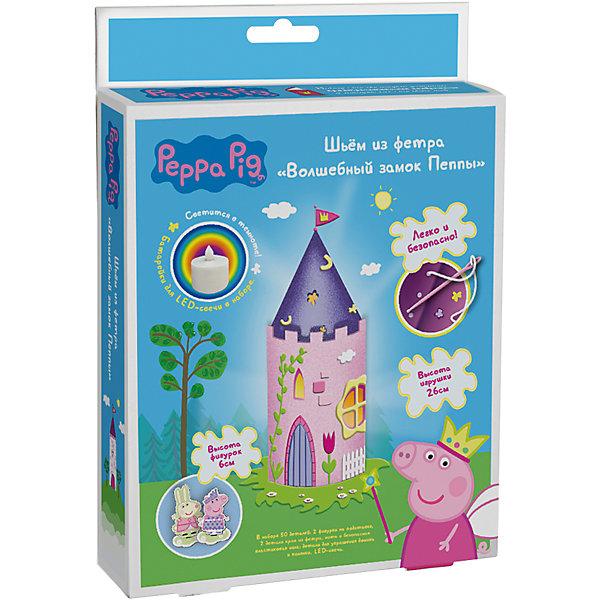 Росмэн Шьем из фетра Волшебный замок Пеппы, Peppa Pig всё для лепки свинка пеппа peppa pig набор для лепки на даче у пеппы