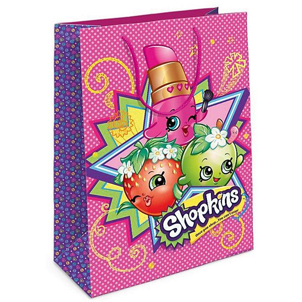 Пакет подарочный, 350*250*90, ShopkinsShopkins<br>Характеристики товара:<br><br>• размер: 35х25х9 см<br>• состав: бумага<br>• яркий принт<br>• удобные ручки<br>• страна бренда: Россия<br>• страна изготовитель: Китай<br><br>Подарочный бумажный пакет Шопкинс стильно и эффектно украсит ваш подарок. <br><br>Пакет подарочный, 350*250*90, Shopkins, вы можете приобрести в нашем интернет-магазине.<br>Ширина мм: 350; Глубина мм: 250; Высота мм: 50; Вес г: 61; Возраст от месяцев: 36; Возраст до месяцев: 2147483647; Пол: Женский; Возраст: Детский; SKU: 5453490;