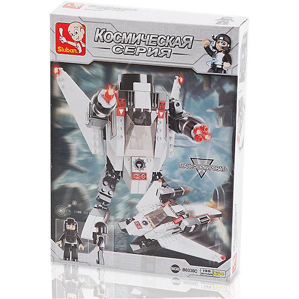 Sluban Конструктор Космическая серия: Робот Штурман, 135 деталей, Sluban нстф 135 на купить