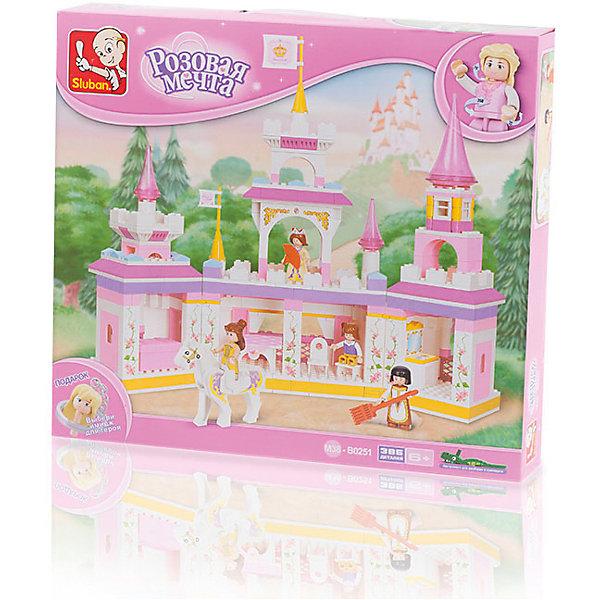 Sluban Конструктор Розовая мечта: Утро принцессы, 385 деталей, Sluban серьги мечта принцессы