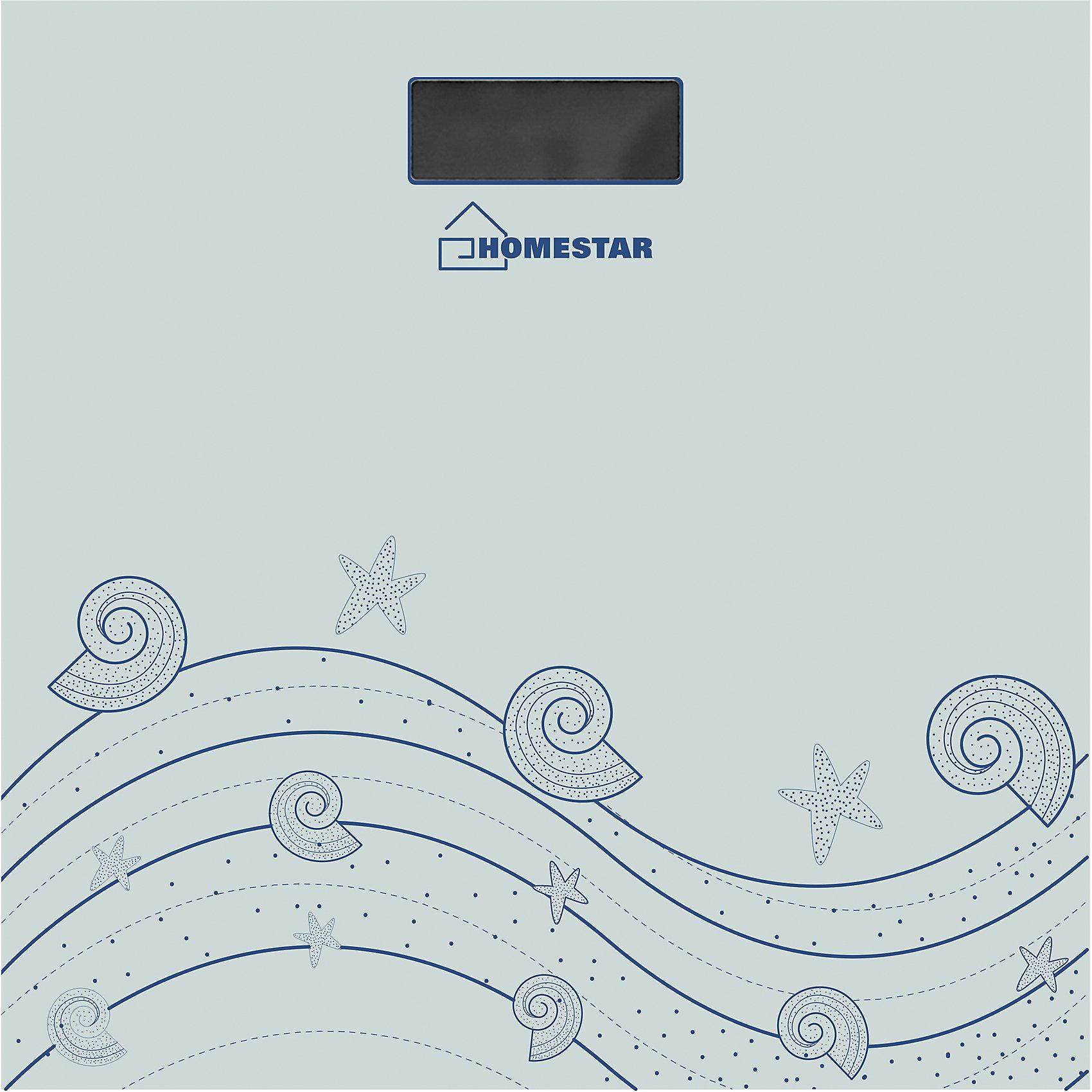 Весы напольные электронные HS-6001B, HOMESTAR