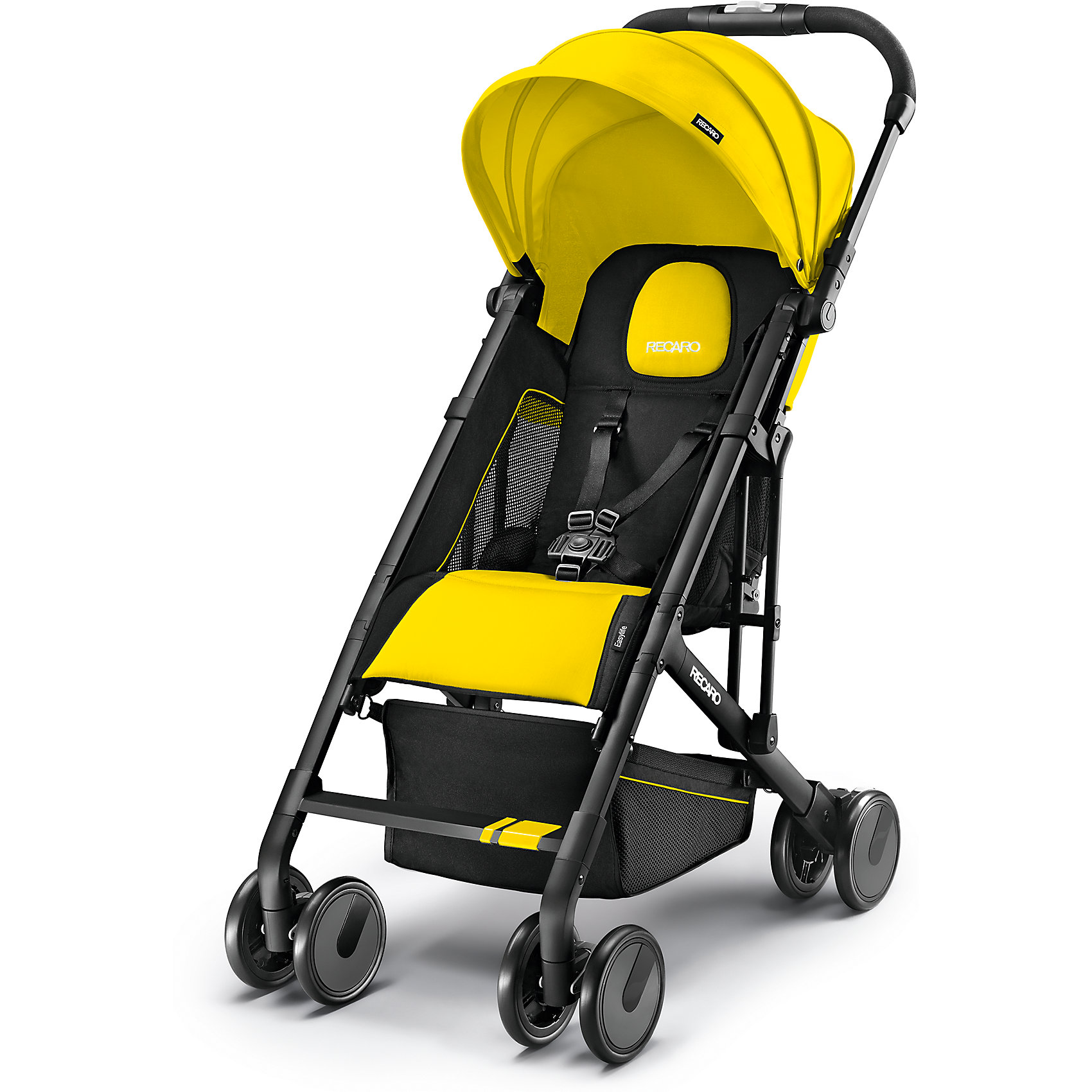 Прогулочная коляска Recaro Easylife, желтый