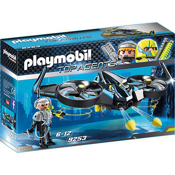Купить Конструктор Playmobil Мега беспилотник , PLAYMOBIL®, Германия, Мужской