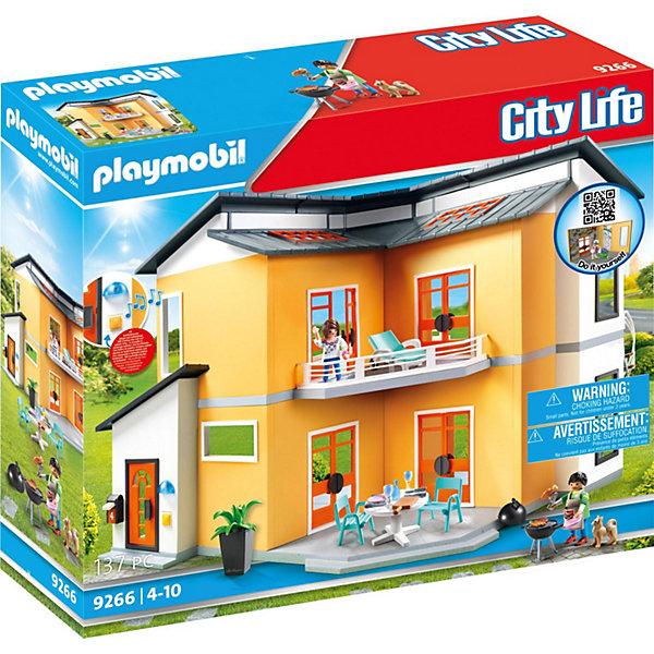 PLAYMOBIL® Конструктор Playmobil Кукольный дом Современный