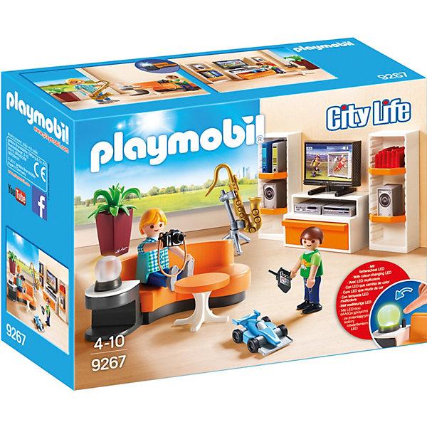 PLAYMOBIL® Конструктор Playmobil Кукольный дом Жилая комната набор для праздника радость в наборе 6 тарелок 6 чашек 6 салфеток скатерть 130см 180см