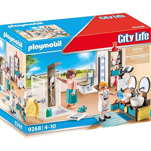 Фото - PLAYMOBIL® Конструктор Playmobil Кукольный дом Ванная playmobil кукольный дом детская комната с люлькой 5304