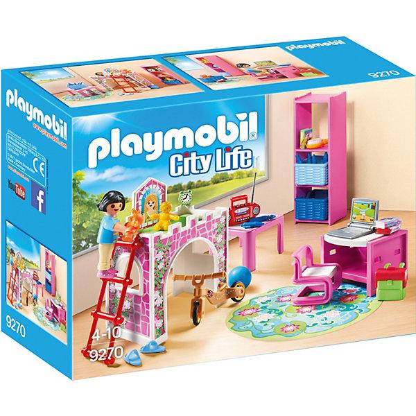 PLAYMOBIL® Конструктор Playmobil Кукольный дом Детская комната playmobil игровой набор кукольный дом жилая комната