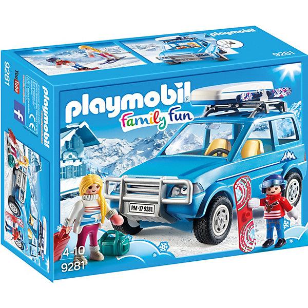 PLAYMOBIL® Конструктор Playmobil Зимний внедорожник, 17 деталей