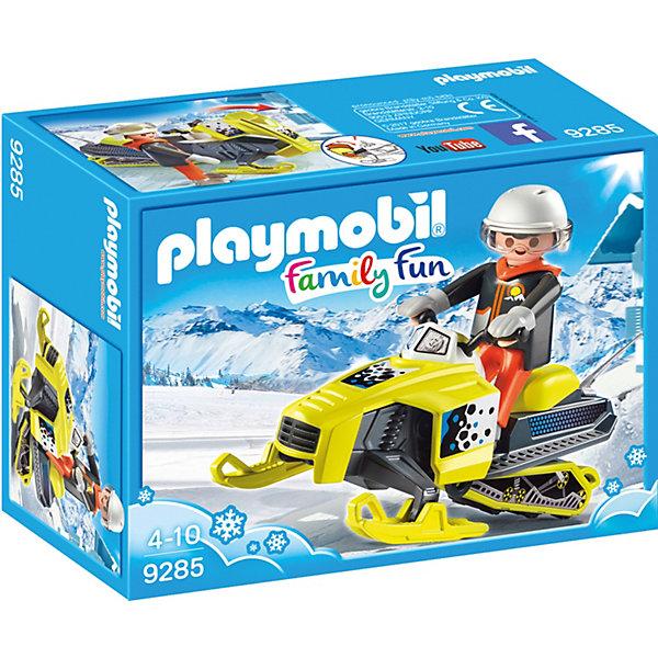 playmobil игровой набор зимние виды спорта снежки PLAYMOBIL® Конструктор Playmobil Сноумобиль, 5 деталей
