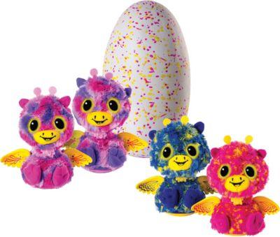 Интерактивная игрушка Spin Master  Hatchimals  Близнецы (фиолетовый/голубой), артикул:5470462 - Интерактивные игрушки