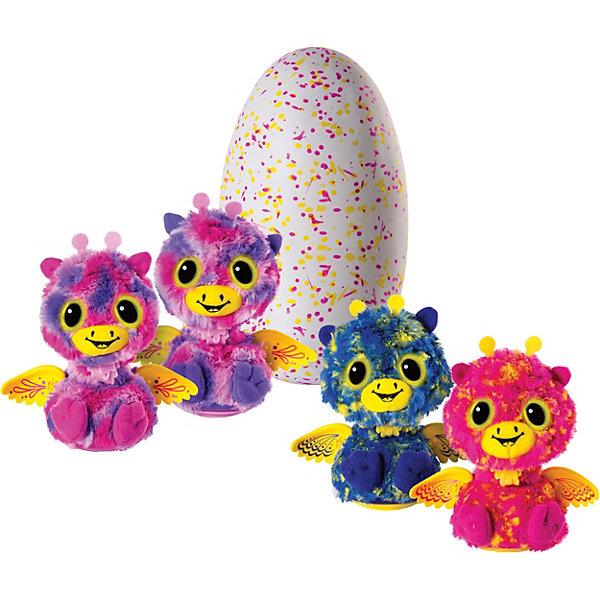 Купить Интерактивная игрушка Spin Master Hatchimals Близнецы (фиолетовый/голубой), Китай, Унисекс