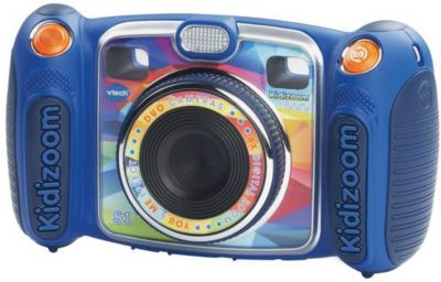 Цифровая камера Kidizoom duo, голубая, Vtech, артикул:5471079 - Интерактивные игрушки