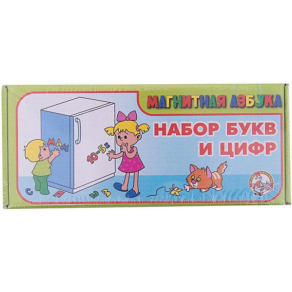 Десятое королевство Набор цифр и букв русского алфавита на магните, Десятое королевство цена и фото