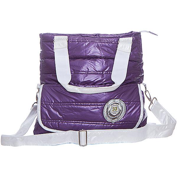 Сумка Bubble Check Yo, цвет фиолетовыйШкольные сумки<br>Характеристики товара:<br><br>• тип: рюкзак-сумка<br>• цвет: фиолетовый<br>• материал: полиэстер <br>• вид застежки: молния<br>• фактура материала: плащевая ткань<br>• размеры : 35х2х40 см<br>• количество отделений: 1 шт.<br>• назначение ремня: на плечо<br>• карманы: без карманов<br>• вид сумки: дорожная<br>• сезон: круглогодичный<br>• пол: для девочки<br>• бренд: Limpopo<br>• страна бренда: США<br>• страна производитель: Китай<br><br>Интересная модель для отдыха и учёбы. <br><br>Насыщенный цвет. <br><br>Непромокаемый материал. <br><br>Прочная и очень лёгкая сумка. <br><br>Одно отделение на молнии. <br><br>Регулируемый плечевой ремень. <br><br>Большой передний карман на липучке.<br><br>Сумку Bubble Check Yo можно купить в нашем интернет-магазине.<br>Ширина мм: 400; Глубина мм: 200; Высота мм: 350; Вес г: 900; Возраст от месяцев: 48; Возраст до месяцев: 96; Пол: Женский; Возраст: Детский; SKU: 5475528;