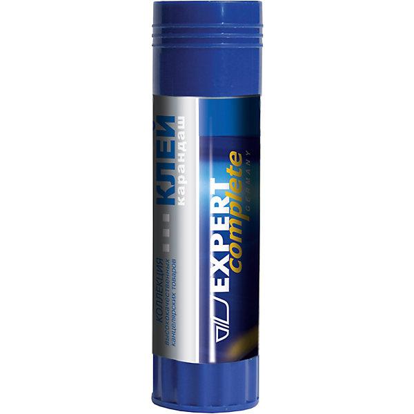 Клей-карандаш Expert 36 гр.Клей и корректоры<br>Характеристики Клей-карандаш Expert:<br><br>• тип: клей карандаш<br>• вес: 36 г<br>• цветовой пигмент: отсутствует<br>• тип клеющей основы: PVA<br>• торговая марка: Expert Complete<br><br>Клей-карандаш Expert Complete предназначен для склеивания картона 330г., бумаги любой плотности, фото и ткани. Основа клея обладает мягкой структурой и содержит глицерин для легкого скольжения. Легко смывается водой и отстирывается, не имеет запаха. Простой и удобный механизм, расположенный в основании стержня, позволяет легко выкрутить и закрутить столбик клея. Вес - 36г. Не содержит цветовых пигментов (бесцветный). Нетоксичен и экологичен. Суперпрочное склеивание. Время склеивания - 30 секунд, для глянцевой бумаги - до 3-х минут.<br><br>Клей-карандаш Expert, 36 гр. можно купить в нашем интернет-магазине.<br>Ширина мм: 110; Глубина мм: 300; Высота мм: 30; Вес г: 60; Возраст от месяцев: 48; Возраст до месяцев: 2147483647; Пол: Унисекс; Возраст: Детский; SKU: 5475535;