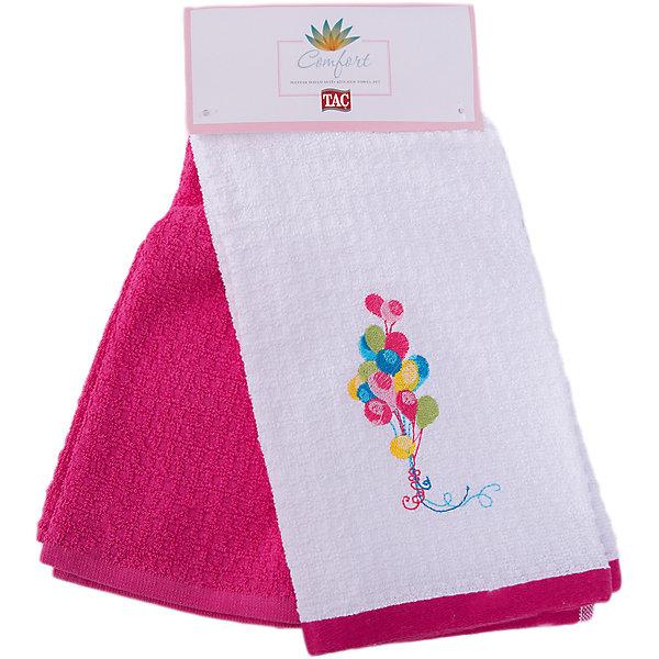 Набор кухонных полотенец 40*60, 2шт., TAC, BALLOONКухонная утварь<br>Характеристики:<br><br>• Вид домашнего текстиля: кухонное полотенце<br>• Размеры полотенца: 40*60 см<br>• Рисунок: воздушные шары<br>• Декор: вышивка<br>• Материал: хлопок, 100% <br>• Цвет: белый, красный, желтый, зеленый<br>• Плотность полотна: 350 гр/м2 <br>• Комплектация: 2 полотенца<br>• Вес: 205 г<br>• Размеры упаковки (Д*Ш*В): 32*3*15 см<br>• Особенности ухода: машинная стирка <br><br>Набор кухонных полотенец 40*60, 2шт., TAC, BALLOON от наиболее популярного бренда на отечественном рынке среди производителей комплектов постельного белья и текстильных принадлежностей, выпуском которого занимается производственная компания, являющаяся частью мирового холдинга Zorlu Holding Textiles Group. <br><br>Полотенца выполнены из натурального хлопка, что обеспечивает высокие впитывающие и износоустойчивые качества. Благодаря высокой степени плотности махры, изделия отлично впитывают влагу, легко отстирываются от пятен и не требуют глажки. Выполнены в белом цвете, декорированы вышивкой. <br><br>Набор кухонных полотенец 40*60, 2шт., TAC, BALLOON можно купить в нашем интернет-магазине.<br>Ширина мм: 140; Глубина мм: 30; Высота мм: 300; Вес г: 400; Возраст от месяцев: 216; Возраст до месяцев: 1188; Пол: Унисекс; Возраст: Детский; SKU: 5476370;