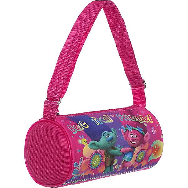 Сумка для девочки ТроллиЧемоданы и дорожные сумки<br>Сумка для девочки Тролли<br><br>Характеристики:<br><br>• Особенности: одно отделение, держит форму<br>• Застёжка: молния<br>• Состав: полиэстер, пластик<br>• Размер: 22 * 12 * 12 см.<br>• Вес: 90 гр.<br>• Для детей в возрасте: от 5 до 10 лет<br>• Страна производитель: Китай<br><br>Благодаря прочному пластиковому каркасу сумочка держит свою круглую форму и позволяет легко найти в ней всё необходимое. Функциональная сумочка с одним общим отделением на молнии подойдёт как для школьных принадлежностей, так и для повседневных мелочей. Удобная прочная ручка регулируется по длине и позволяет носить сумочку как будет удобнее её хозяйке. <br> <br>Сумку для девочки Тролли можно купить в нашем интернет-магазине.<br>Ширина мм: 120; Глубина мм: 220; Высота мм: 120; Вес г: 90; Возраст от месяцев: 36; Возраст до месяцев: 2147483647; Пол: Женский; Возраст: Детский; SKU: 5478259;