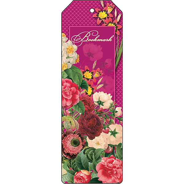 Феникс-Презент Закладка для книг декоративная Цветочная гирлянда закладка для книг стерео royce акулы