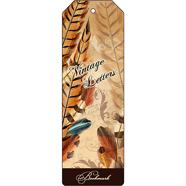 Феникс-Презент Закладка для книг декоративная Винтаж закладка для книг стерео royce акулы
