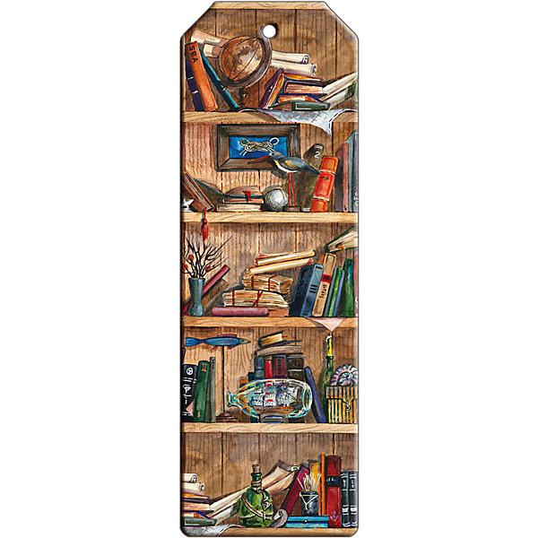 Закладка для книг декоративная Книжные полкиШкольные аксессуары<br>Характеристики декоративной закладки для книг Книжные полки:<br><br>• тип: закладка<br>• материал: металл<br>• длина:15 см<br>• размеры: 19 x 6 x 0.5 см <br>• упаковка: пакет<br>• вес в упаковке, 45 г<br>• страна-изготовитель: Китай<br><br>Закладка декоративная Книжные полки размером 5x15 см выполнена из черного окрашенного металла с ярким оригинальным дизайном в виде книжных полок. Изделие не выскальзывает из книги, не мнется и не затирается со временем. Закладка поможет быстро отыскать нужную страницу, станет прекрасным подарком всем книголюбам.<br><br>Декоративную закладку для книг Книжные полки можно купить в нашем интернет-магазине.<br>Ширина мм: 150; Глубина мм: 50; Высота мм: 10; Вес г: 31; Возраст от месяцев: 48; Возраст до месяцев: 144; Пол: Унисекс; Возраст: Детский; SKU: 5479438;