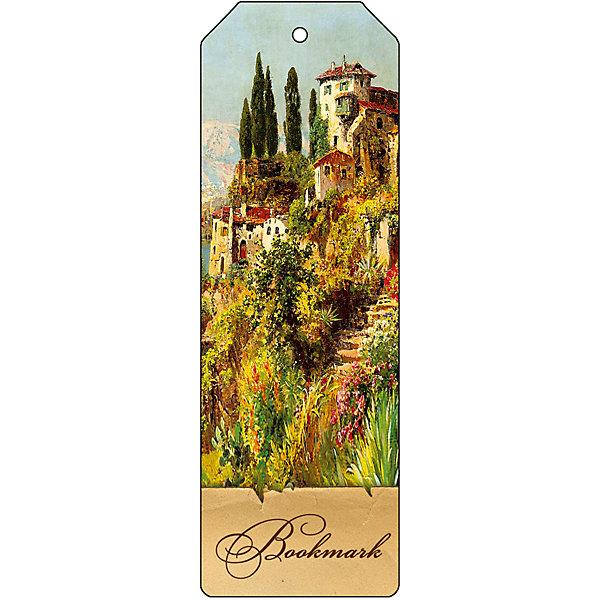 Феникс-Презент Закладка для книг декоративная Итальянский городок magic home закладка для книг 75700
