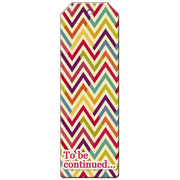 Феникс-Презент Закладка для книг декоративная Разноцветный зигзаг magic home закладка для книг корона принц