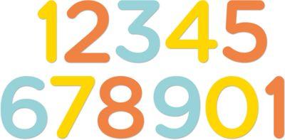 Цифры 1 до 12 мес ц. UNI, Pearhead, артикул:5482439 - Всё для мам