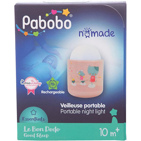 Pabobo Ночник-путешественник, Pabobo, Лолабелла ночники без проводов pabobo pabobo ночник путешественник
