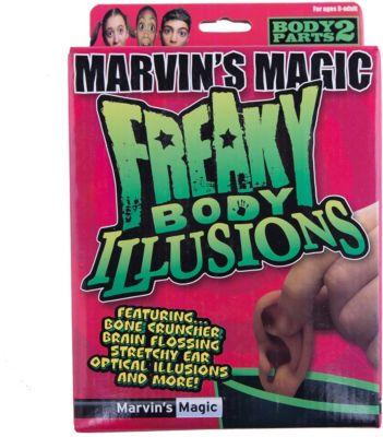 Набор фокусов  Смешные ужасы и иллюзии с частями тела , артикул:5482548 - Фокусы и розыгрыши