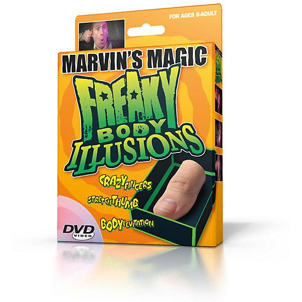 Marvins Magic Набор фокусов Смешные ужасы и иллюзии с частями тела