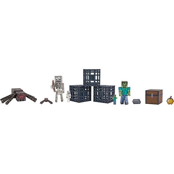 "Набор фигурок Jazwares ""Minecraft"" Dungeon Подземелье, 6 фигурок"