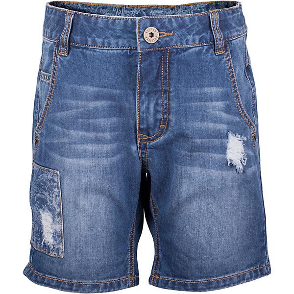 Шорты джинсовые для мальчика GulliverШорты, бриджи, капри<br>Школьный сезон позади и пора составлять летний гардероб ребенка... Джинсовые шорты для мальчика - вещь совершенно необходимая! Они подарят 100% комфорт и сделают образ стильным и современным. Летние шорты с эффектными повреждениями, варкой и фирменной металлической фурнитурой будут лучшим подарком для мальчика-подростка, идущего в ногу со временем. Если вы решили купить шорты, остановите свой выбор на этой модели! Модные джинсовые шорты - ваш ответ жаркому лету!<br>Состав:<br>100% хлопок<br>Ширина мм: 191; Глубина мм: 10; Высота мм: 175; Вес г: 273; Цвет: синий; Возраст от месяцев: 144; Возраст до месяцев: 156; Пол: Мужской; Возраст: Детский; Размер: 158,146,164,152; SKU: 5483226;
