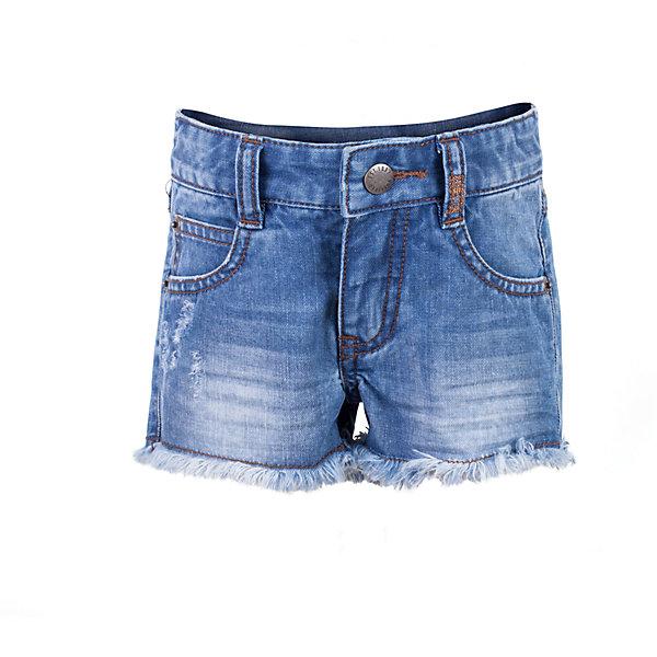 Gulliver Шорты джинсовые для девочки Gulliver шорты джинсовые sevenext bd04