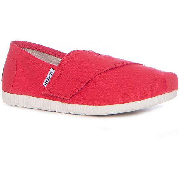 Слипоны для девочки GulliverСлипоны<br>Оригинальные слипоны красиво завершат образ юной модницы! Яркий коралловый цвет выглядит свежо и необычно, делая слипоны эффектным элементом образа из коллекции Коралловые рифы. Если вы решили приобрести ребенку легкую текстильную обувь из 100% хлопка на практичной резиновой подошве, вам стоит купить слипоны и ваш ребенок будет в восторге. Они обеспечат бесконечный комфорт, удобство и соответствие актуальным трендам.<br>Состав:<br>Верх: канвас подкладка: канвас стелька: кожа подошва: резина<br>Ширина мм: 250; Глубина мм: 150; Высота мм: 150; Вес г: 250; Цвет: красный; Возраст от месяцев: 60; Возраст до месяцев: 72; Пол: Женский; Возраст: Детский; Размер: 29,28,27,26,25,24; SKU: 5483751;