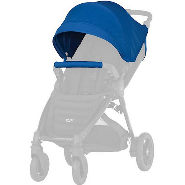 Britax Капор для коляски B-Agile/ B-Motion 4 Plus, Britax, Ocean Blue britax капор sand beige для коляски b agile и b motion 4 plus