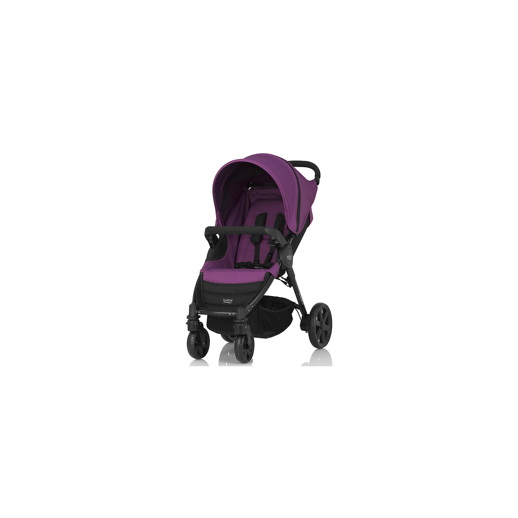 Прогулочная коляска Britax B-Agile 4, Mineral Lilac