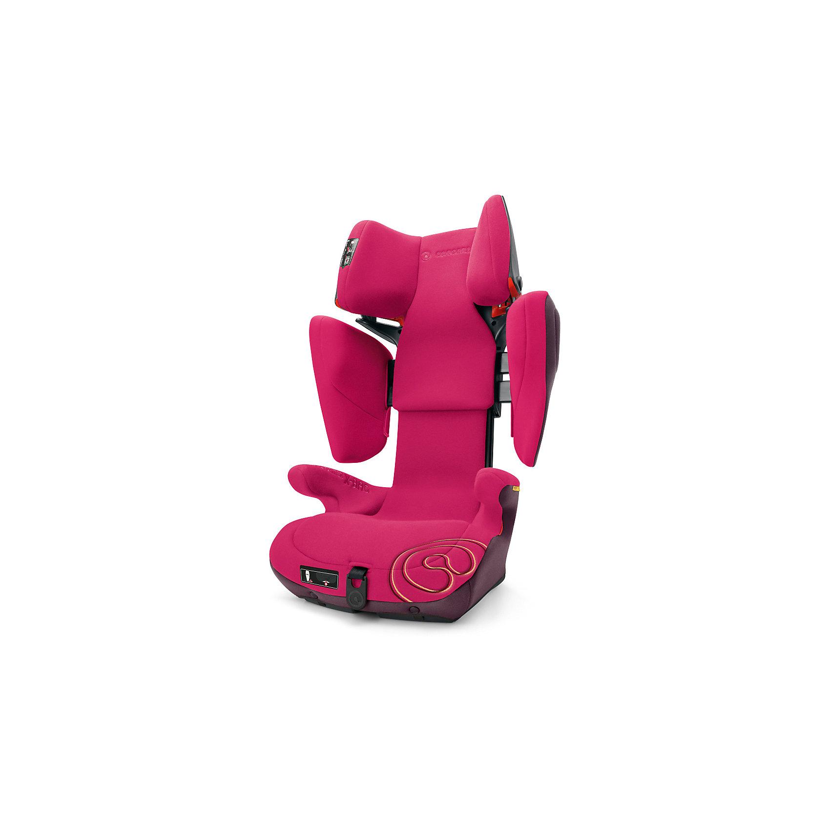 Автокресло Concord Transformer X-BAG, 15-36 кг, Rose Pink