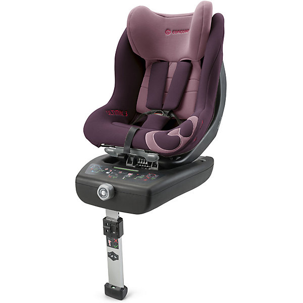 Автокресло Concord Ultimax 3, 0-18 кг, Raspberry PinkГруппа 0-1 (до 18 кг)<br>Характеристики автокресла:<br><br>• группа автокресла: 0/1 ;<br>• возраст ребенка: от рождения до года;<br>• вес ребенка: до 18 кг;<br>• способ установки: против хода движения автомобиля, по ходу движения автомобиля;<br>• способ крепления: база Isofix, дополнительный упор в пол с регулируемой высотой ножки;<br>• усовершенствованная версия предыдущей модели - автокресла Concord Ultimax.2;<br>• возможность регулировки автокресла по наклону в положении против хода движения;<br>• кресельная чаша эргономичной формы.<br><br>Особенности автокресла:<br><br>• высокие боковины для защиты от боковых ударов, инновационная система боковой защиты;<br>• подголовник эргономической формы регулируется в 6-ти положениях по высоте;<br>• ремни безопасности регулируются автоматически;<br>• положение для сна, переводится одной рукой;<br>• мягкий, дышащий гипоаллергенный материал;<br>• вкладыш для новорожденных идет в комплекте с автокреслом;<br>• съемный тазовый вкладыш для крупных детей (не рекомендуется снимать до достижения веса в 9 кг);<br>• съемные чехлы, можно стирать при 30С.<br><br>Размеры:<br><br>• размер автокресла 63х44х57 см;<br>• высота подголовника: 57-66 см;<br>• вес автокрела: 12,3 кг;<br>• размер упаковки: 76х46х44 см;<br>• вес в упаковке: 18 кг.<br><br>Автокресло Ultimax 3, 0-18 кг, Concord, Raspberry Pink можно купить в нашем интернет-магазине.<br>Ширина мм: 760; Глубина мм: 460; Высота мм: 440; Вес г: 18000; Цвет: лиловый; Возраст от месяцев: 0; Возраст до месяцев: 48; Пол: Женский; Возраст: Детский; SKU: 5485177;