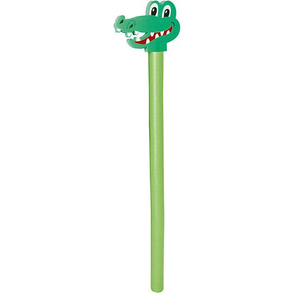 Аквалапша с наконечником в виде головы Крокодила, BestwayПринадлежности для плавания<br>Аквалапша с наконечником в виде головы Крокодила, Bestway (Бествей)<br><br>Характеристики:<br><br>• для обучения плаванию<br>• для занятий аквааэробикой<br>• легко гнется<br>• хорошо фиксируется<br>• не натирает кожу<br>• наконечник в виде головы крокодила<br>• материал: 75% полиоксиметилен, 25% вспененный пластик<br>• размер: 170х6 см<br>• вес: 462 грамма<br><br>Аквалапша поможет ребенку освоиться в воде во время обучения плаванию. Аквалапша легко сгибается и хорошо фиксируется в любом положении. Поверхность изделия не натирает нежную кожу малыша. Наконечник выполнен в виде головы забавного крокодила. Яркий дизайн и интересная конструкция вызовут интерес у ребенка, и он с радостью научится плавать!<br><br>Аквалапшу с наконечником в виде головы Крокодила, Bestway (Бествей), в ассортименте можно купить в нашем интернет-магазине.