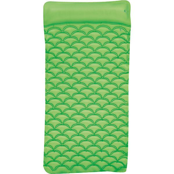 Bestway Матрас для плавания гибкий, 213х86 см, зеленый, Bestway матрас bestway 191х137х22 см