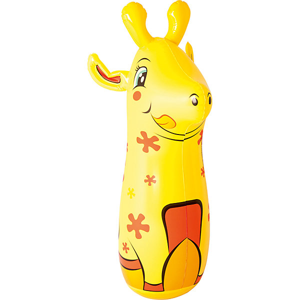 Bestway Надувная игрушка для боксирования Жираф, 91 см,