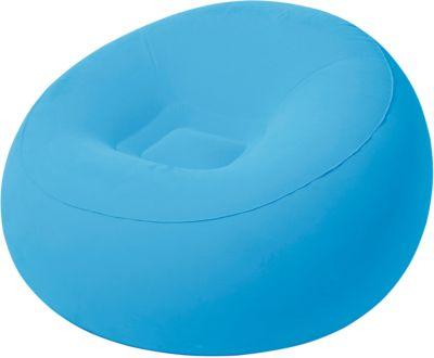 Кресло надувное, 112х112х66 см, голубое, Bestway, артикул:5486958 - Надувная мебель