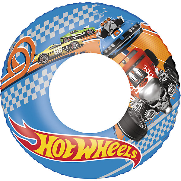 Bestway Круг для плавания, 56 см, Hot Wheels,