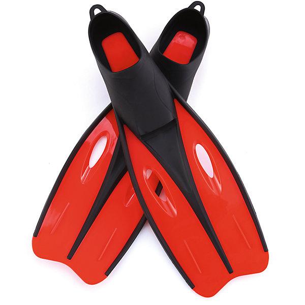 Ласты для плавания для взрослых, р-р 40-42, Bestway, красные