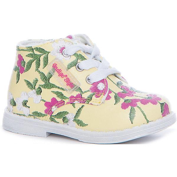 Indigo kids Ботинки для девочки Indigo kids ботинки indigo kids ботинки