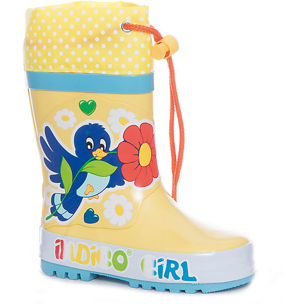 Фотография товара резиновые сапоги для девочки Indigo kids (5489394)