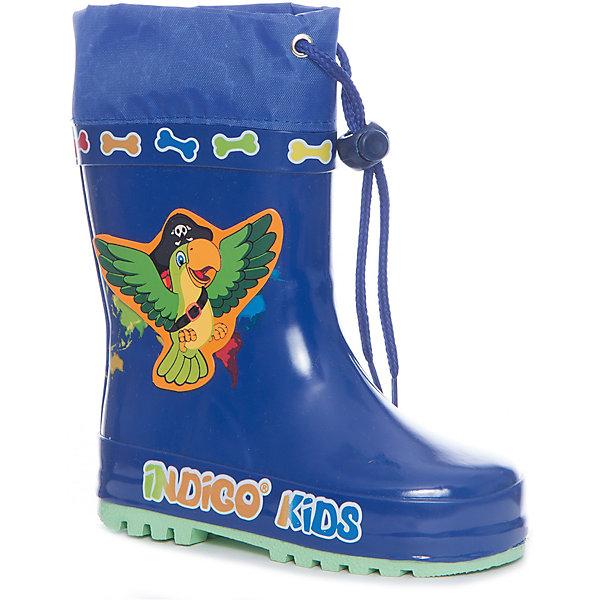 Фотография товара резиновые сапоги для мальчика Indigo kids (5489410)