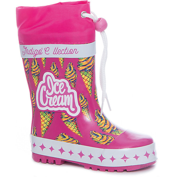 Фотография товара резиновые сапоги для девочки Indigo kids (5489434)